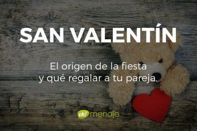 San Valentín. El origen de la fiesta y qué regalar a tu pareja.