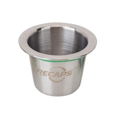 CAPSUL'IN. Cápsulas de acero inoxidable compatibles Nespresso.